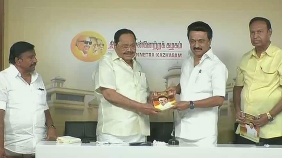 DMK releases party manifesto for Tamil Nadu assembly elections 2021, promises reduction in petrol prices