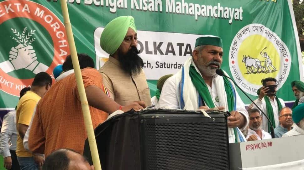 Don't vote for BJP: BKU leader Rakesh Tikait urges people ahead of West Bengal polls