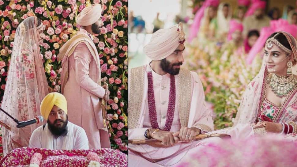 Jasprit Bumrah-Sanjana Ganesan wedding: Virat Kohli leads cricket fraternity to congratulate newlyweds