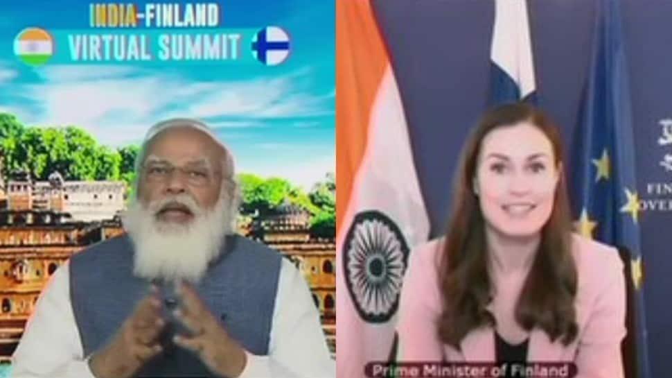 India-Finland virtual summit: PM Narendra Modi underlines country's efforts in COVID-19 vaccination outreach