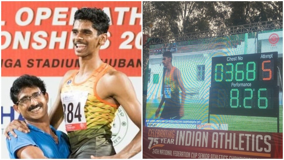 Long jumper Murli Sreeshankar qualifies for Tokyo Olympics, Dhanalakshmi beats Dutee Chand to win 100m gold