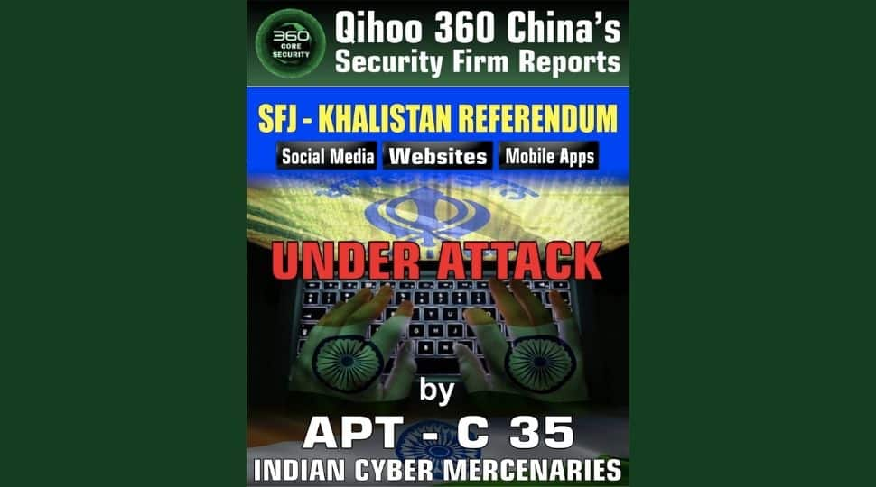 Chinese Security firm releases 'Cyber Terrorism against Sikhs in India' report
