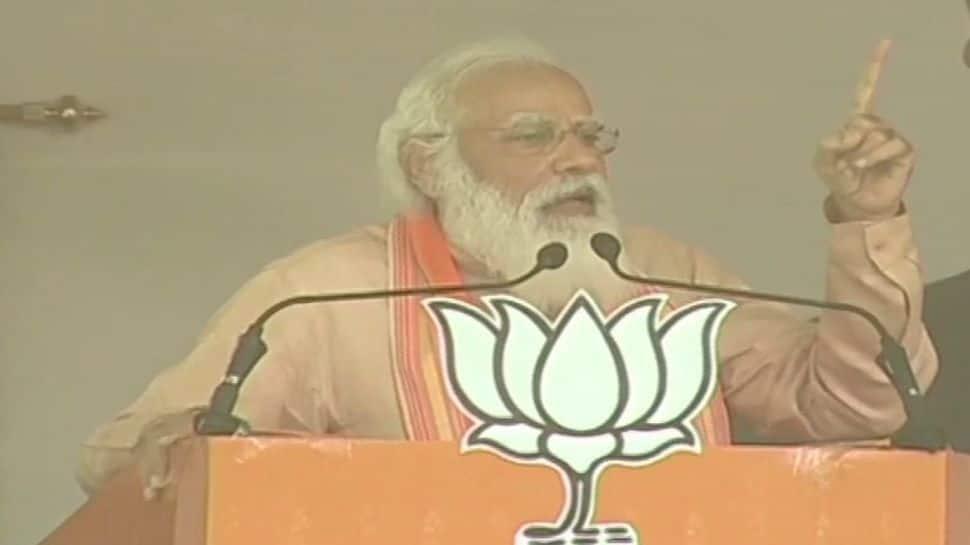 BJP will build 'Sonar Bangla' to achieve dreams of Gurudev and Netaji: PM Narendra Modi