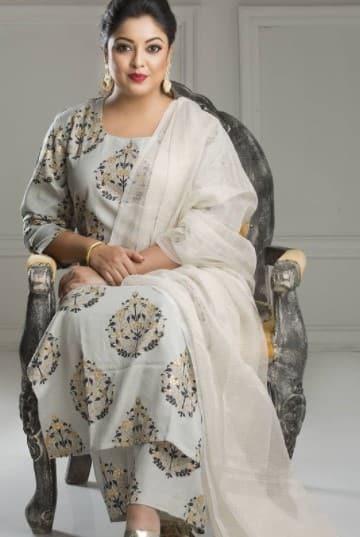 Tanushree when she was plumer