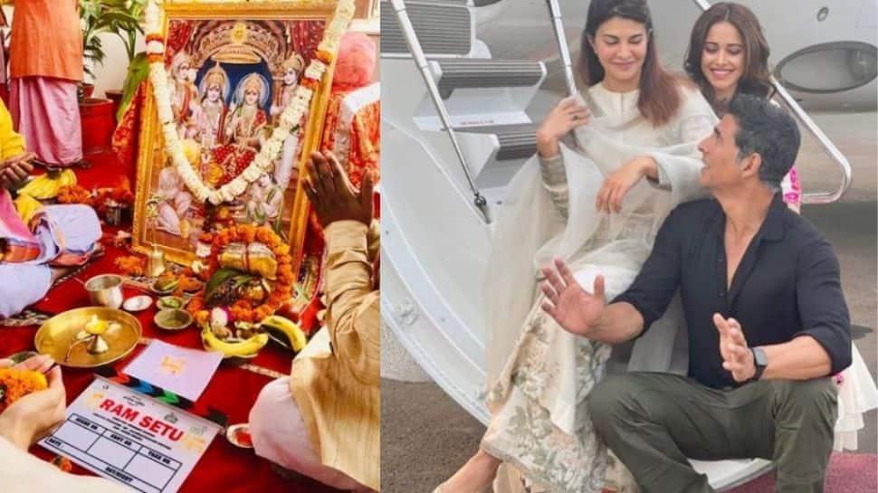 Jai Shri Ram! Akshay Kumar's Ram Setu mahurat puja performed at Ayodhya