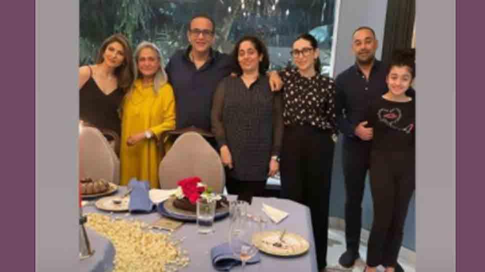Karisma Kapoor shares photo with Jaya Bachchan from Nikhil Nanda's birthday celebration