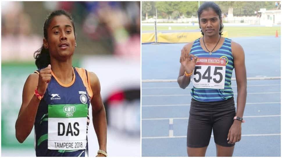 Federation Cup: Hima Das beats Dhanalakshmi in 200m women's final