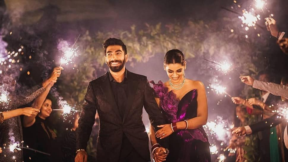 Jasprit Bumrah brutally trolled for THIS reason after sharing 'magical' pics from his wedding reception