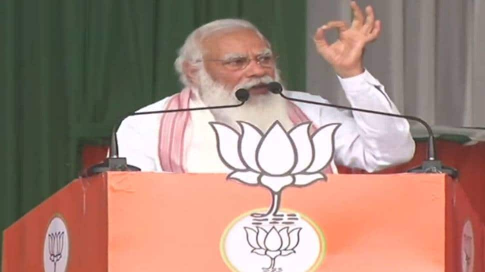 If 'chaiwala' won't understand your problems who will: PM Modi to tea garden workers in Assam at poll rally