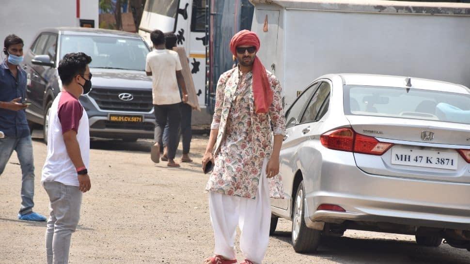 Kartik Aaryan spotted