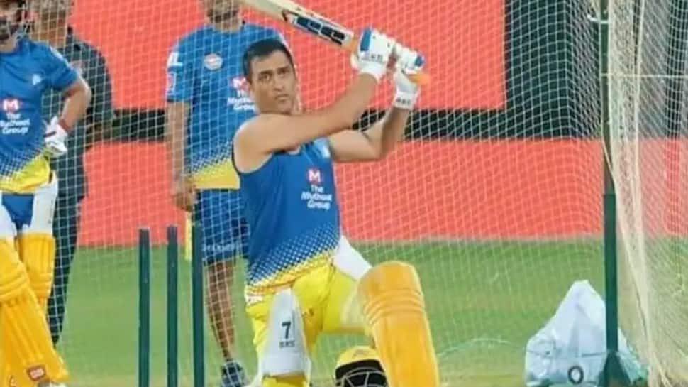 IPL 2021: CSK skipper MS Dhoni hits gigantic six during training session, watch video