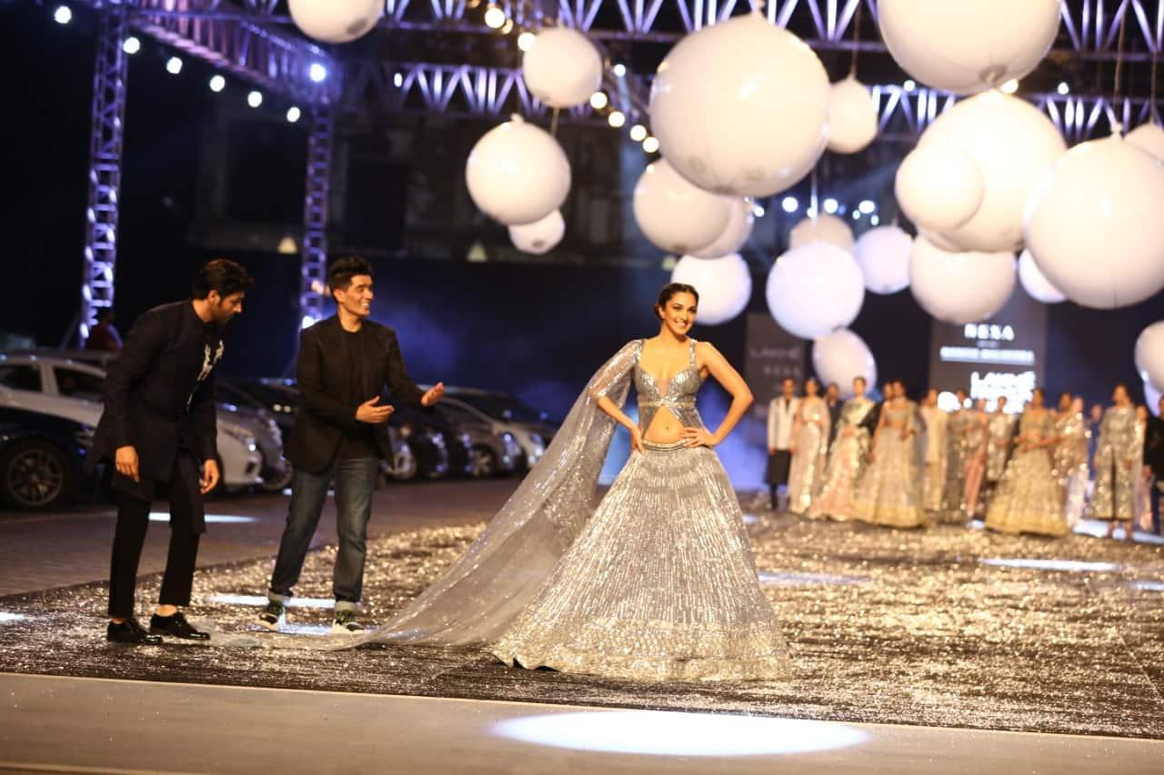 Kiara Advani looks gorgeous in a Manish Malhotra lehenga