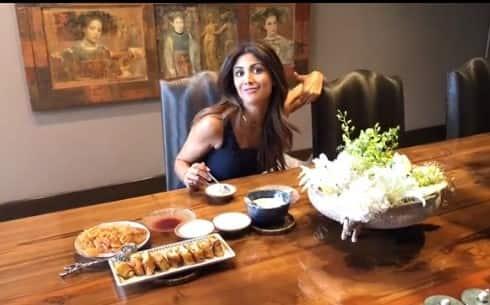 Shilpa Shetty dining room