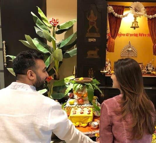 Mandir inside Shilpa Shetty-Raj Kundra home
