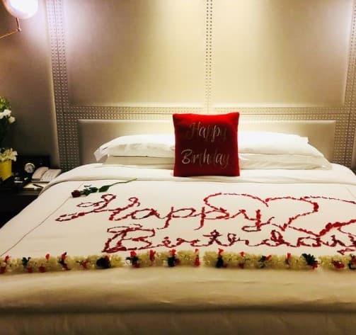 Shilpa Shetty's bedroom