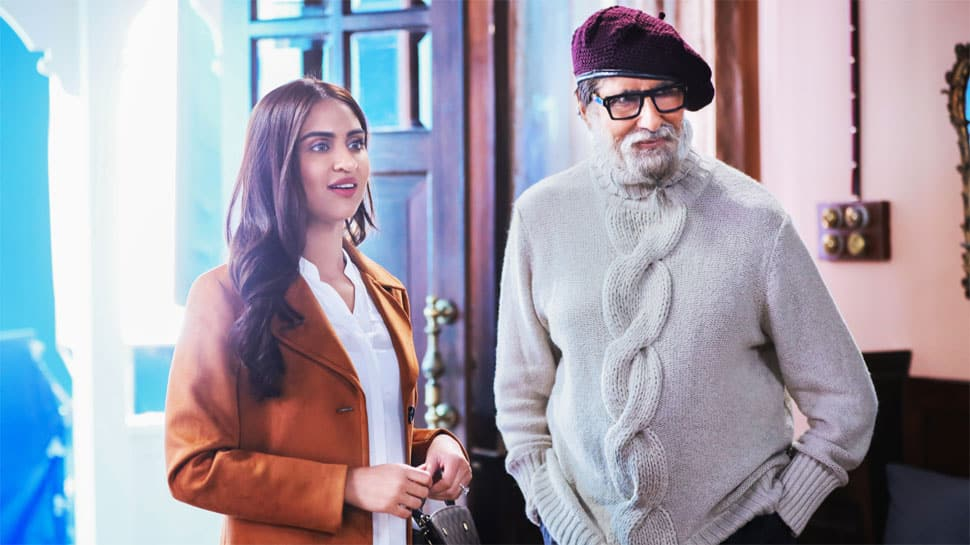 Chehre actress Krystle D'Souza recalls her first meeting with Amitabh Bachchan