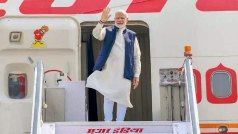 PM Narendra Modi arrives in Dhaka