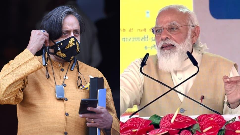 `Sorry!`, says Shashi Tharoor after slamming PM Narendra Modi`s speech in Bangladesh - Zee News