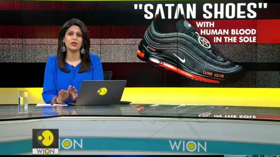 Human-Blood infused in these shoes, American company stirs controversy