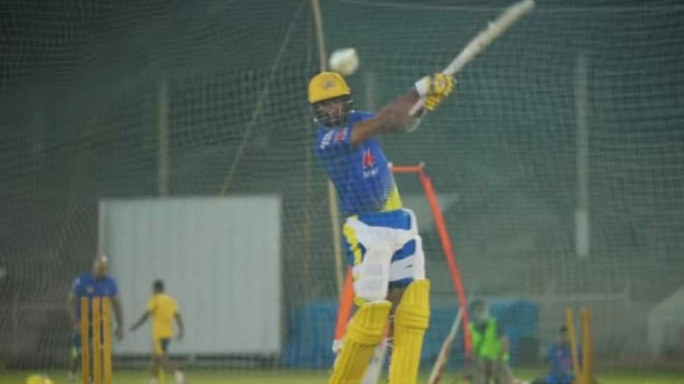 IPL 2021: CSK's Cheteshwar Pujara smashes sixes after changing stance, watch video