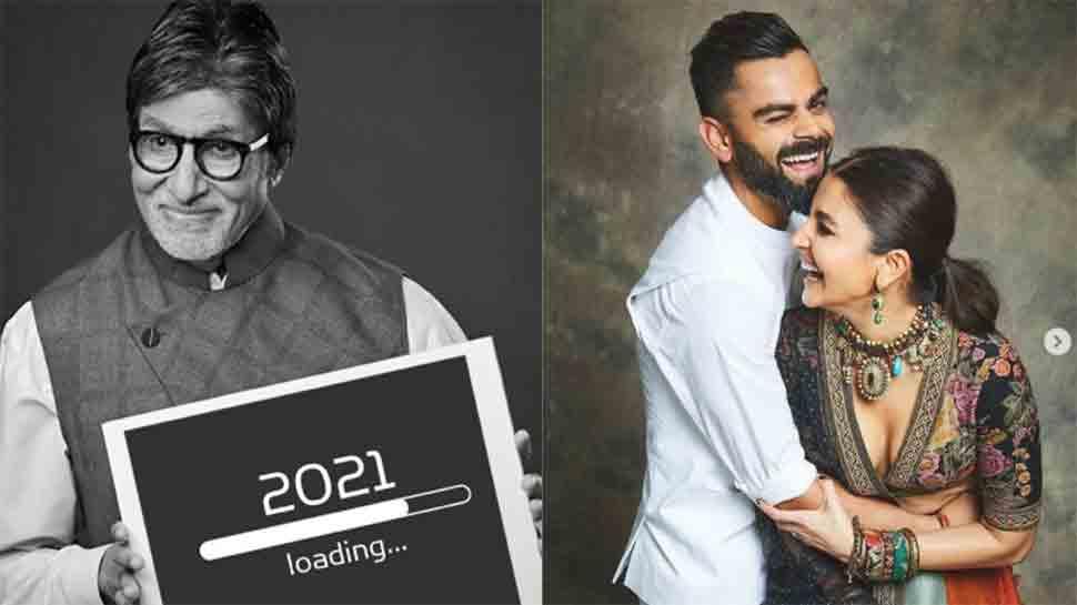 Amitabh Bachchan cracks joke on Anushka Sharma, Virat Kohli, says 'she has a huge apartment'