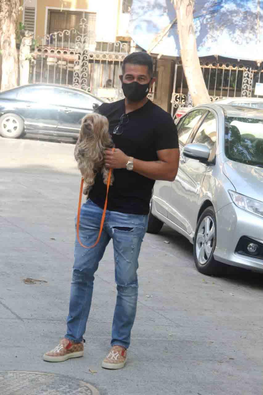 Amrita Arora's husband spotted