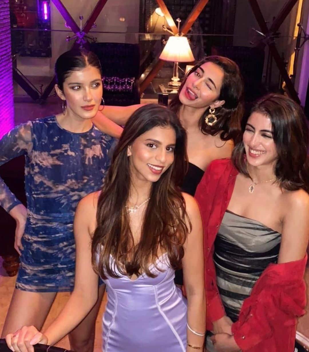 Suhana Khan is BFFs with Ananya Panday and Shanaya Kapoor
