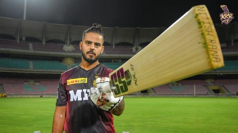 Kolkata Knight Riders' batsman Nitish Rana