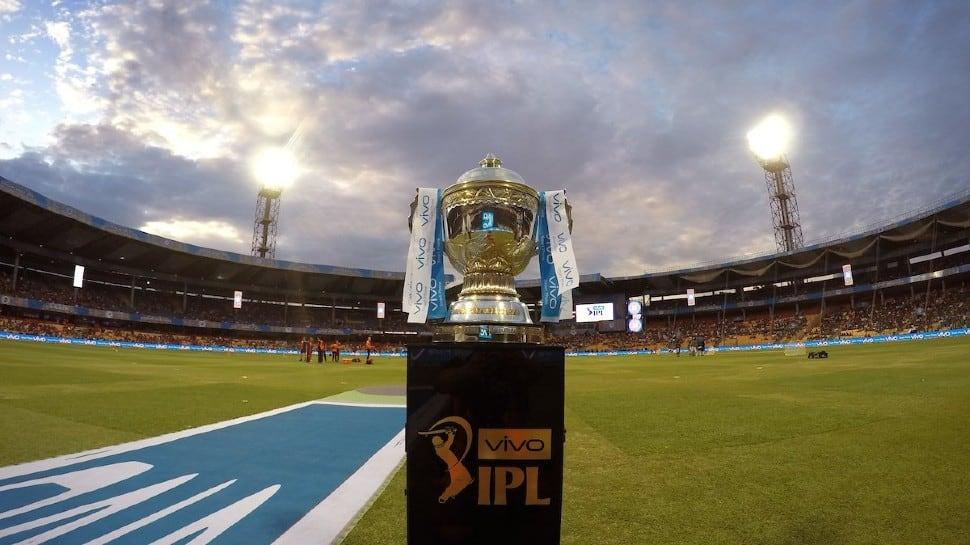 IPL Trophy in Wankhede stadium