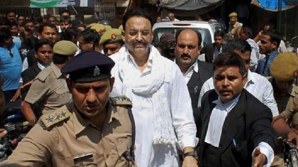Mukhtar Ansari, the gangster-turned-politician, brought back to Banda jail  in UP from Punjab prison | Uttar Pradesh News | Zee News