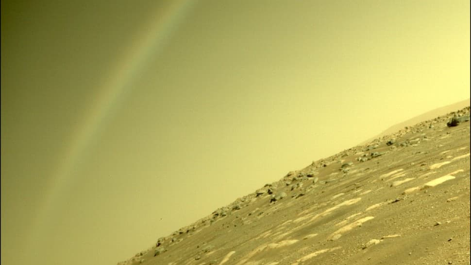 Did Mars rover capture a rainbow on the red planet, here's what NASA has to say | World News