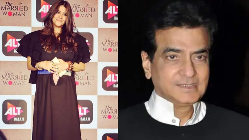 Ekta Kapoor calls father Jeetendra Kapoor 'wind beneath my wings' while wishing him on his birthday