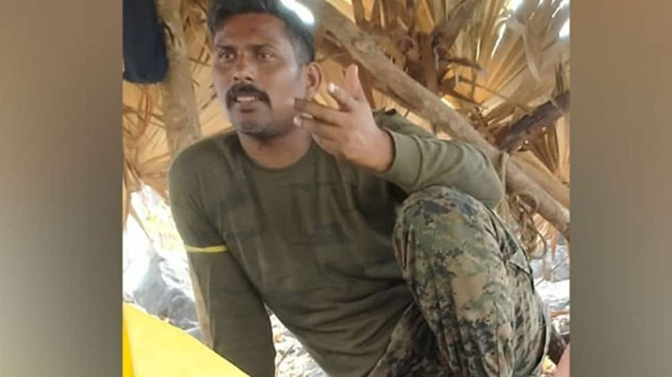 Missing CoBRA commando's picture surfaces amid efforts for his safe release from Naxals