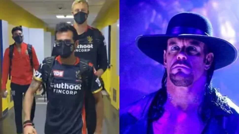 'RCB ready for WrestleMania': Yuzvendra Chahal, Kyle Jamieson imitate The Undertaker's iconic slow walk – WATCH