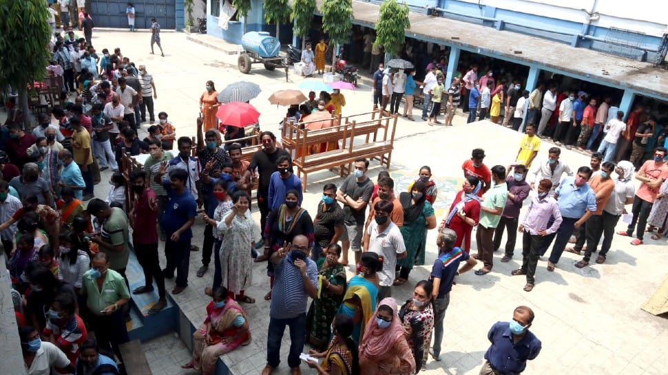 West Bengal assembly election: Voting for fourth phase of polls ends with 76.16 per cent turnout