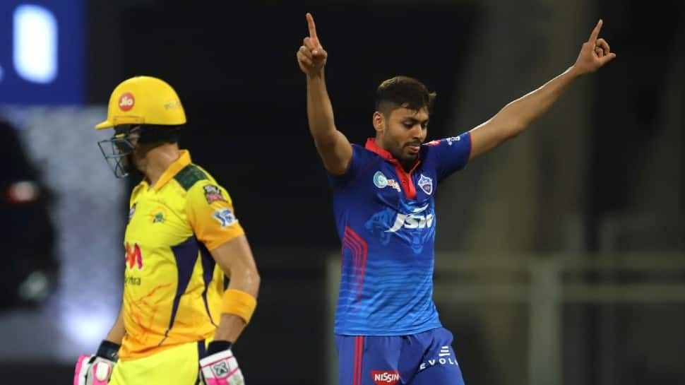 IPL 2021: DC pacer Avesh Khan's dream comes true after dismissing CSK skipper MS Dhoni for a duck