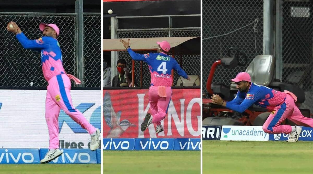 IPL 2021 RR vs PBKS: Tewatia's stunning catch denies KL Rahul a century - WATCH
