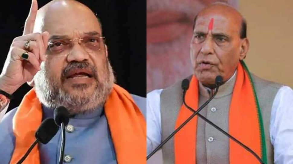 Union Home Minister Amit Shah, Defence Minister Rajnath Singh to hold multiple election rallies in West Bengal today