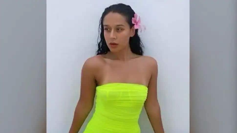 Tiger Shroff's sister Krishna slams troll for criticising her bikini pic