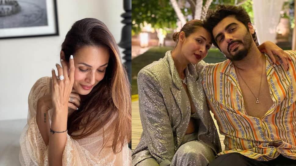 Malaika Arora flaunts her flashy diamond ring, sparks engagement rumours with beau Arjun Kapoor- See pic!