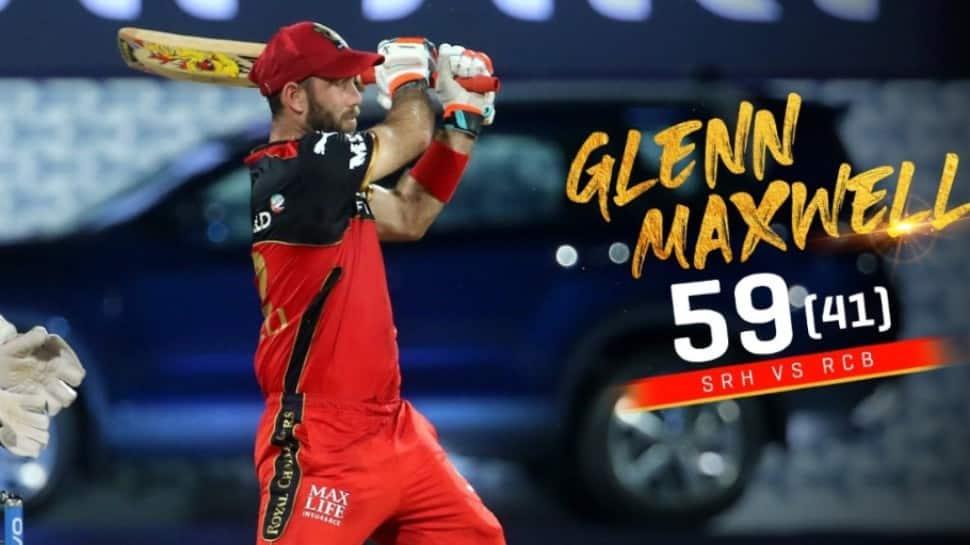 IPL 2021 SRH vs RCB: Glenn Maxwell hits 41-ball 59, ends fifty drought after 3 barren IPL seasons