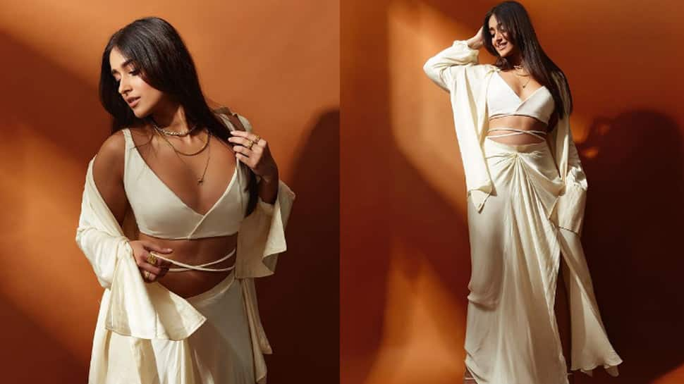 Ileana D'Cruz burns Instagram with her smouldering photoshoot wearing a white sensuous outfit - In Pics
