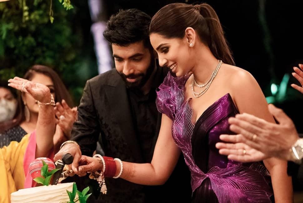 IPL 2021: Sanjana Ganesan misses hubby Jasprit Bumrah and THIS, tweets romantic message