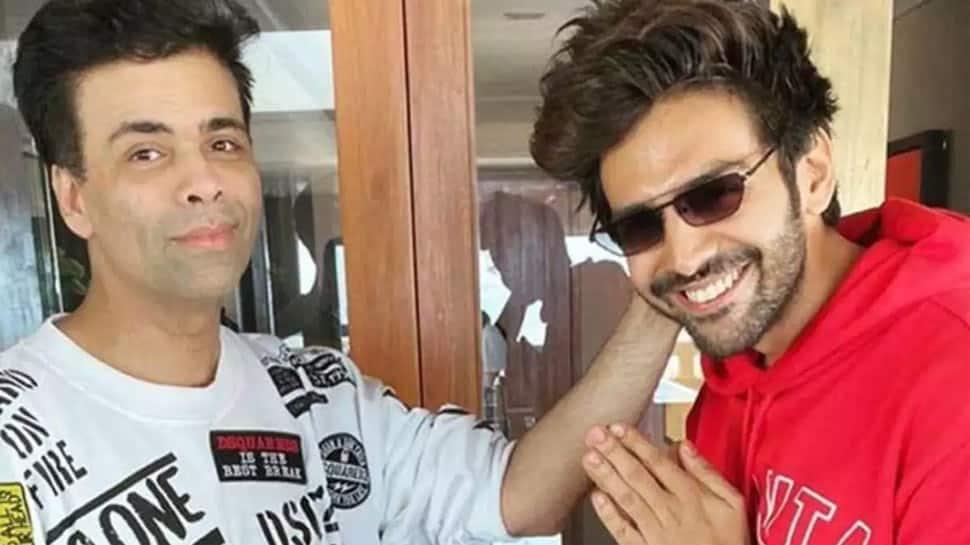 After fallout over Dostana 2, Karan Johar UNFOLLOWS Kartik Aaryan on Instagram? Hot Scoop