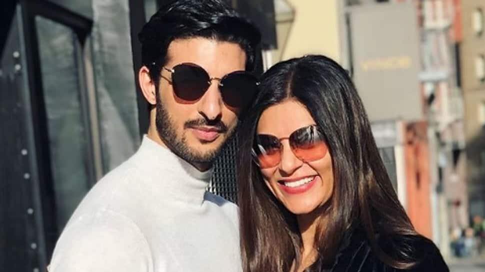 Sushmita Sen goes live on social media, her PDA with boyfriend Rohman Shawl hogs attention - Watch