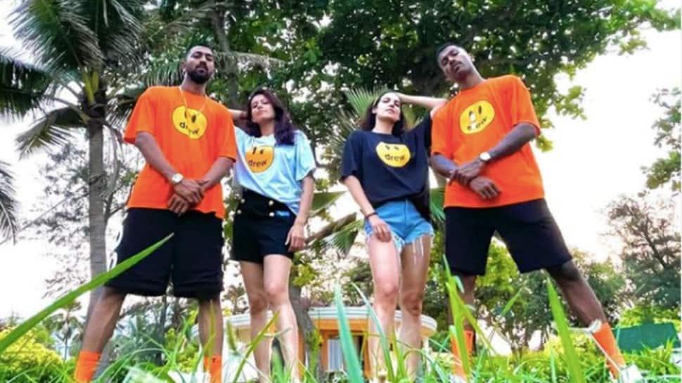 IPL 2021: Natasa Stankovic and Pankhuri Sharma shake a leg with husbands Hardik and Krunal Pandya in 'The Pandya's Swag'