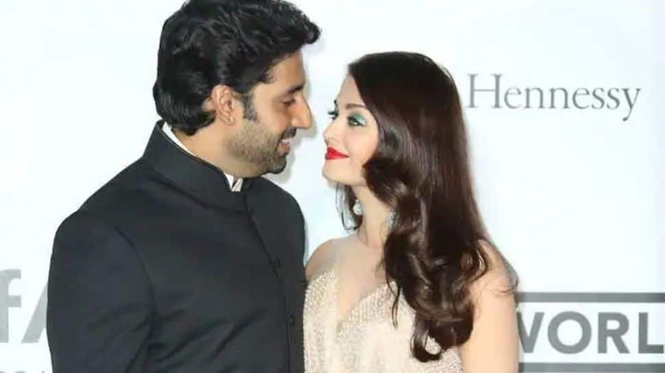 Abhishek Bachchan and Aishwarya Rai's wedding anniversary: These loved-up pics of power couple are full of romance!