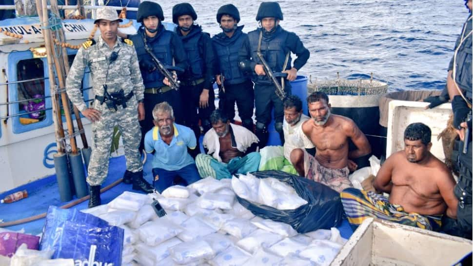 Indian Navy seizes over 300 kg of narcotics substances worth Rs 3,000 crore