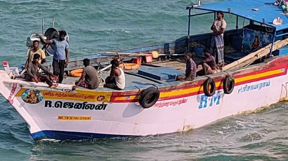 Indian Coast guard rescues eight fishermen off Karaikal, Puducherry