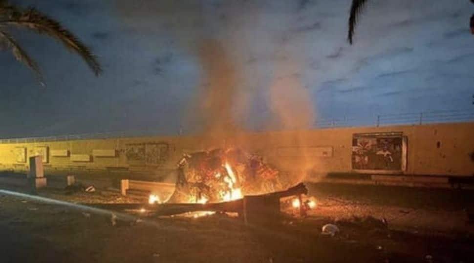 Three rockets land near Iraq's Baghdad Airport